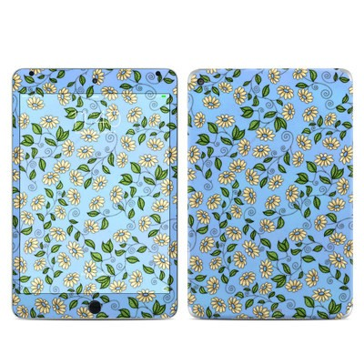 Apple iPad Mini 4 Skin - Blue Daisy