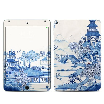 Apple iPad Mini 4 Skin - Blue Willow