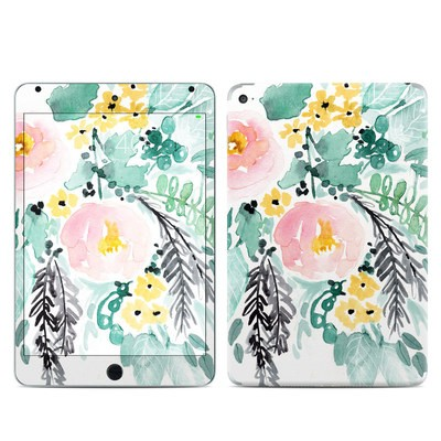 Apple iPad Mini 4 Skin - Blushed Flowers