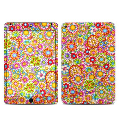 Apple iPad Mini 4 Skin - Bright Ditzy