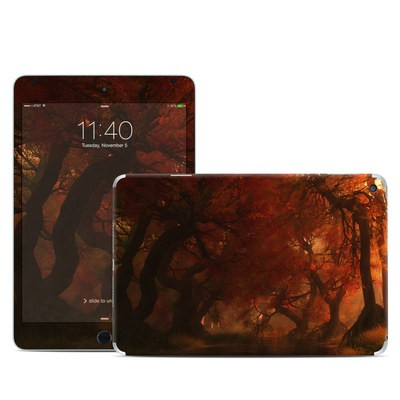 Apple iPad Mini 4 Skin - Canopy Creek Autumn
