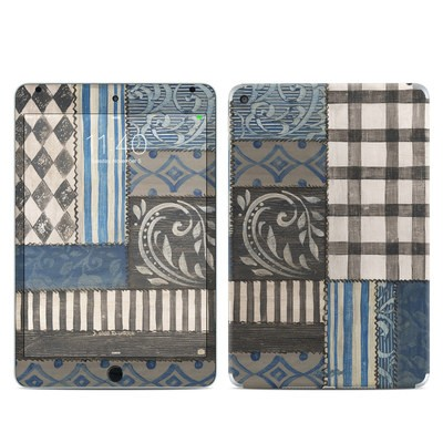 Apple iPad Mini 4 Skin - Country Chic Blue