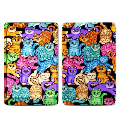 Apple iPad Mini 4 Skin - Colorful Kittens