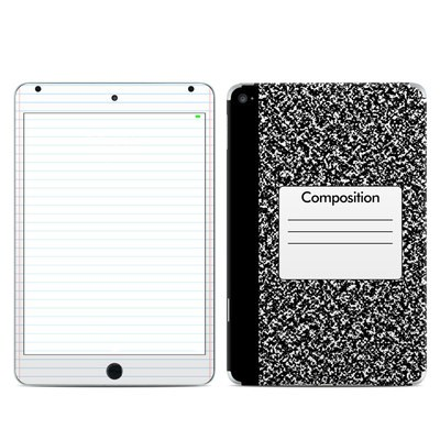 Apple iPad Mini 4 Skin - Composition Notebook