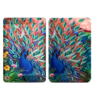 Apple iPad Mini 4 Skin - Coral Peacock