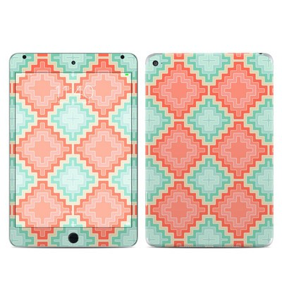 Apple iPad Mini 4 Skin - Coral Diamond
