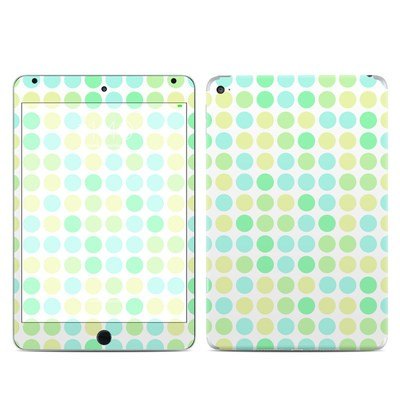 Apple iPad Mini 4 Skin - Big Dots Mint