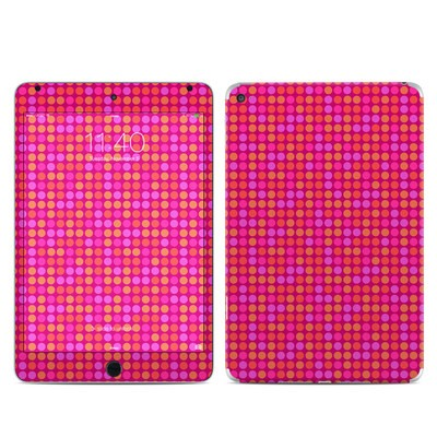Apple iPad Mini 4 Skin - Dots Pink