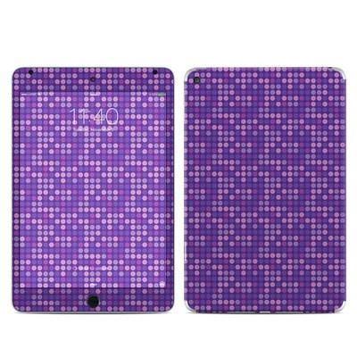 Apple iPad Mini 4 Skin - Dots Purple