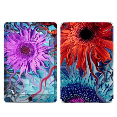 Apple iPad Mini 4 Skin - Deep Water Daisy Dance
