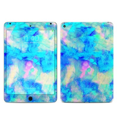 Apple iPad Mini 4 Skin - Electrify Ice Blue