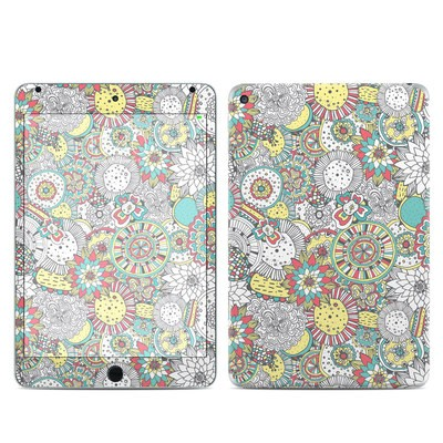Apple iPad Mini 4 Skin - Faded Floral