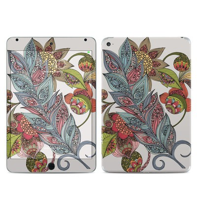 Apple iPad Mini 4 Skin - Feather Flower