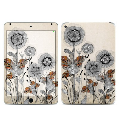 Apple iPad Mini 4 Skin - Four Flowers