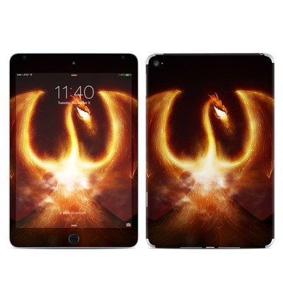 Apple iPad Mini 4 Skin - Fire Dragon
