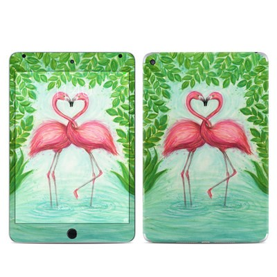 Apple iPad Mini 4 Skin - Flamingo Love