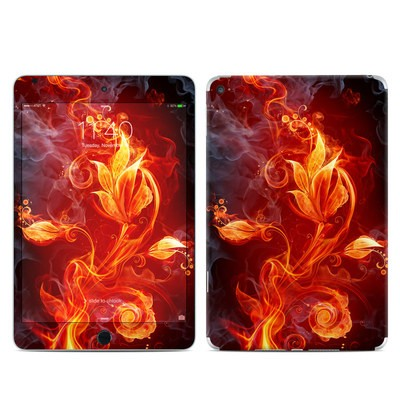Apple iPad Mini 4 Skin - Flower Of Fire