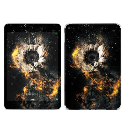 Apple iPad Mini 4 Skin - Flower Fury