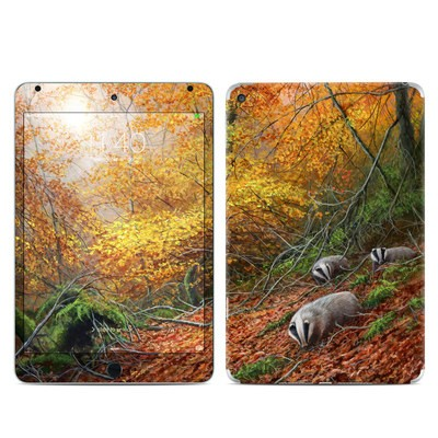 Apple iPad Mini 4 Skin - Forest Gold