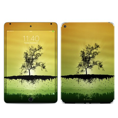 Apple iPad Mini 4 Skin - Flying Tree Amber