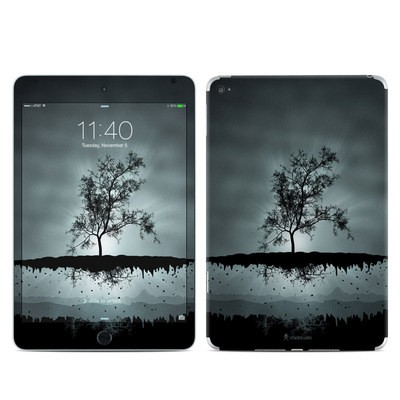 Apple iPad Mini 4 Skin - Flying Tree Black