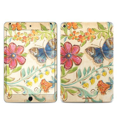Apple iPad Mini 4 Skin - Garden Scroll