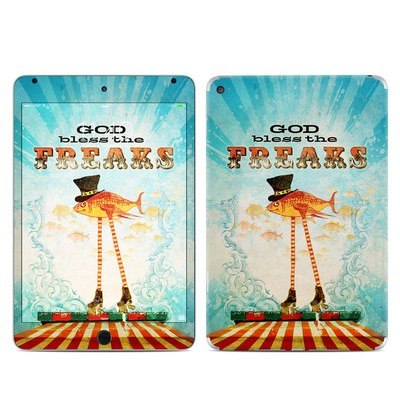 Apple iPad Mini 4 Skin - God Bless The Freaks