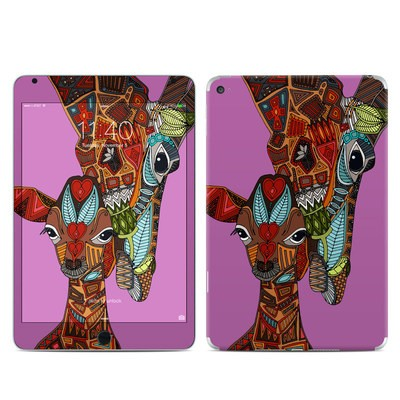 Apple iPad Mini 4 Skin - Giraffe Love