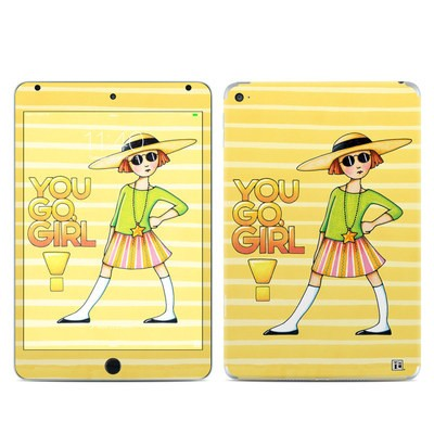 Apple iPad Mini 4 Skin - You Go Girl