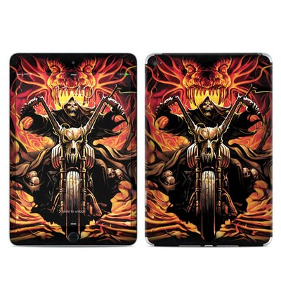 Apple iPad Mini 4 Skin - Grim Rider