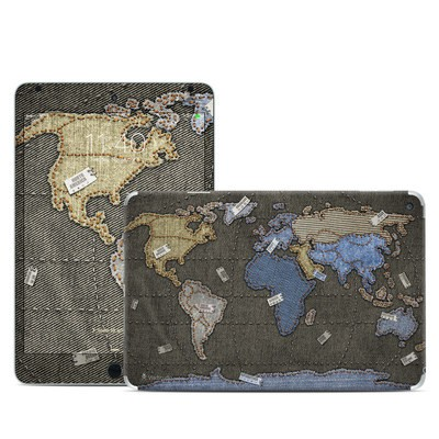 Apple iPad Mini 4 Skin - Jean Map
