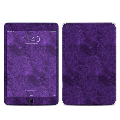Apple iPad Mini 4 Skin - Purple Lacquer