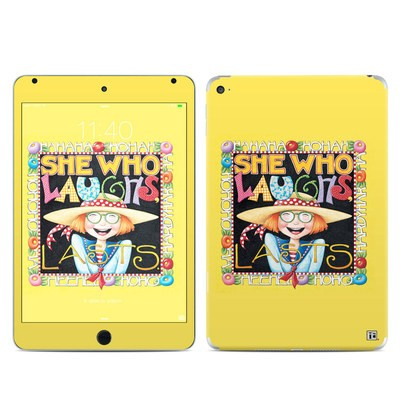 Apple iPad Mini 4 Skin - She Who Laughs