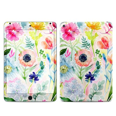 Apple iPad Mini 4 Skin - Loose Flowers