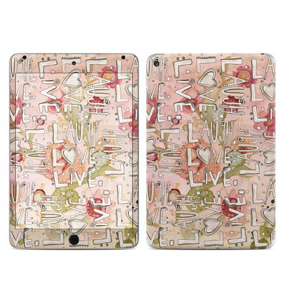 Apple iPad Mini 4 Skin - Love Floral