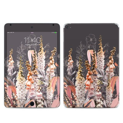 Apple iPad Mini 4 Skin - Lupines Chocolate