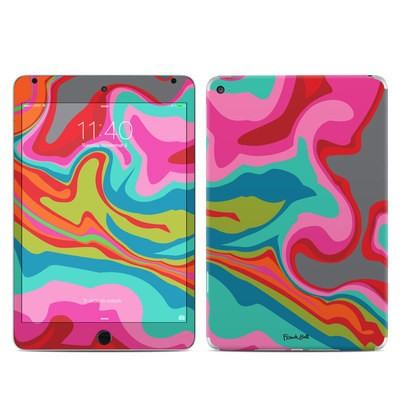 Apple iPad Mini 4 Skin - Marble Bright