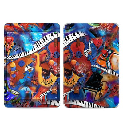 Apple iPad Mini 4 Skin - Music Madness