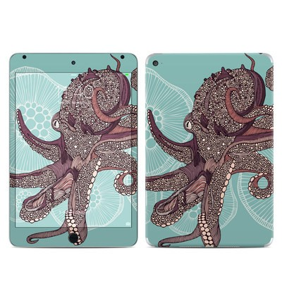 Apple iPad Mini 4 Skin - Octopus Bloom