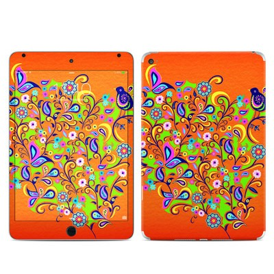 Apple iPad Mini 4 Skin - Orange Squirt