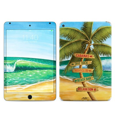 Apple iPad Mini 4 Skin - Palm Signs