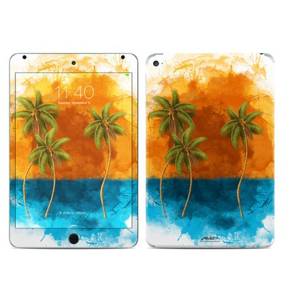Apple iPad Mini 4 Skin - Palm Trio