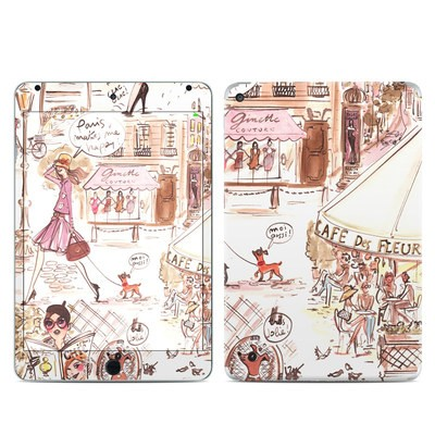 Apple iPad Mini 4 Skin - Paris Makes Me Happy