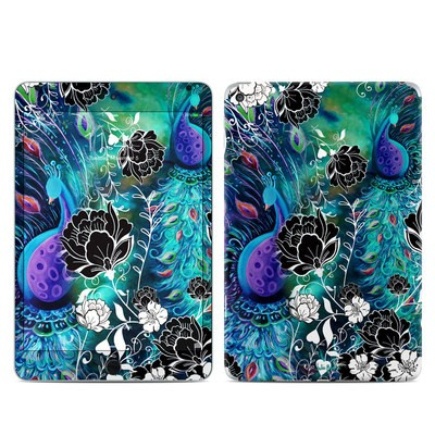 Apple iPad Mini 4 Skin - Peacock Garden