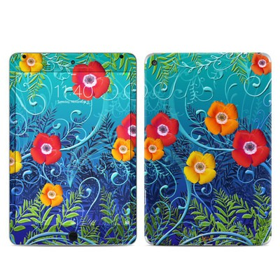 Apple iPad Mini 4 Skin - Poppies
