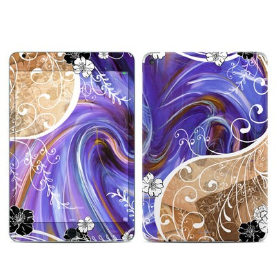 Apple iPad Mini 4 Skin - Purple Waves
