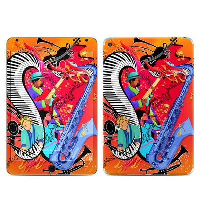 Apple iPad Mini 4 Skin - Red Hot Jazz