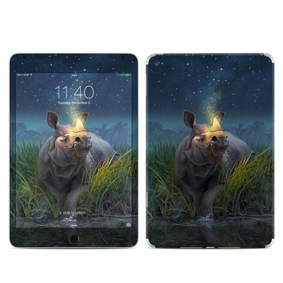 Apple iPad Mini 4 Skin - Rhinoceros Unicornis