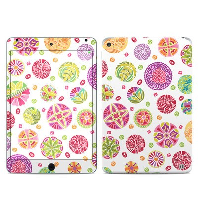 Apple iPad Mini 4 Skin - Round Flowers