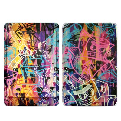 Apple iPad Mini 4 Skin - Robot Roundup